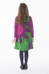 Robe courte colorée pour fille sans manche 287162