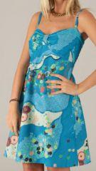 Robe courte d'été à bretelles Originale et Colorée Sévilla 277859