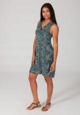 Robe courte d'été colorée en stretch Magalou 7 318699
