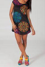 Robe courte d'été colorée et originale Palina 2 318762