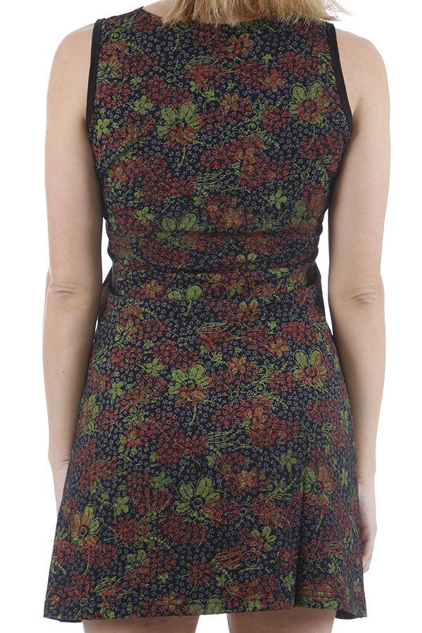 Robe courte d'été ethnique chic et colorée Sabrina 310919