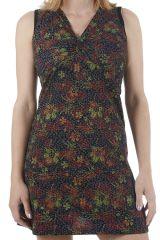Robe courte d'été ethnique chic et colorée Sabrina 310920