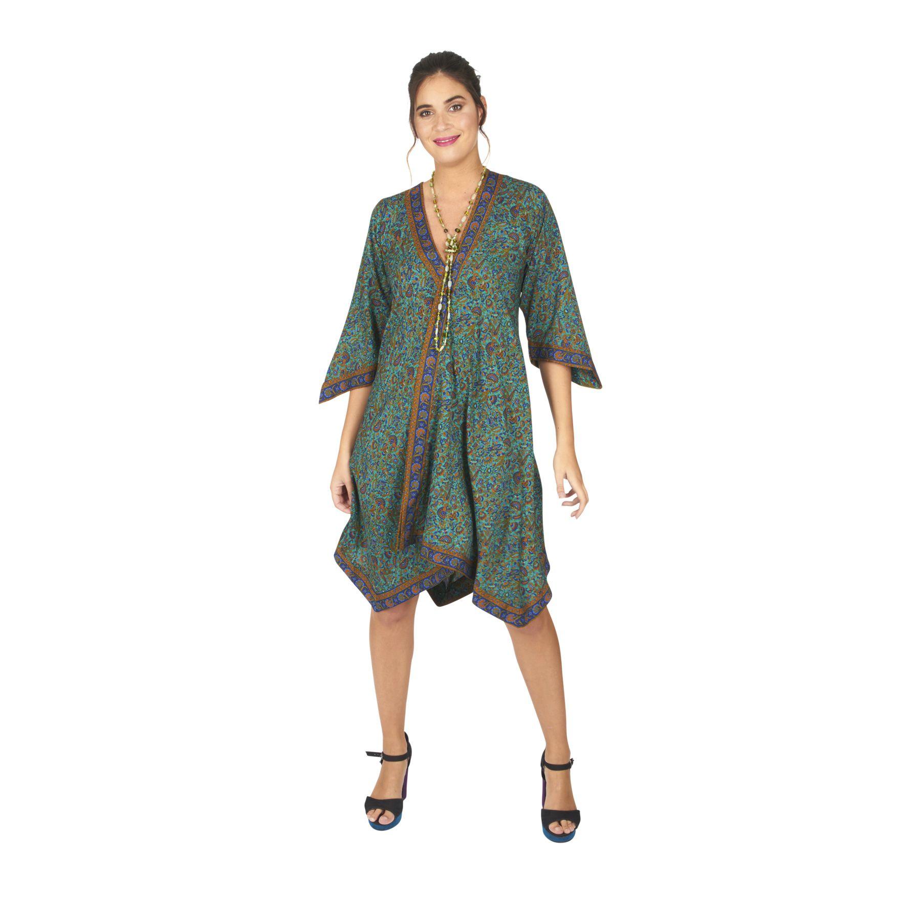 Robe courte d\'été femme ou tunique pas chère Elodie