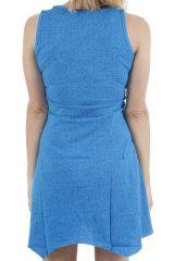 Robe courte d'été imprimée mandalas et colorée Anita 310889
