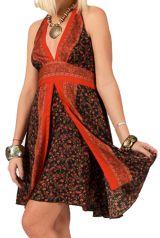 Robe courte d'été Pas Chère Originale et Imprimée Tania 286044