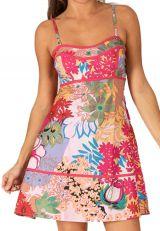 Robe courte d'été Rose Originale et Imprimée Naïma 285962