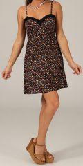 Robe courte d'été très féminine Originale et Glamour Pinka 279665