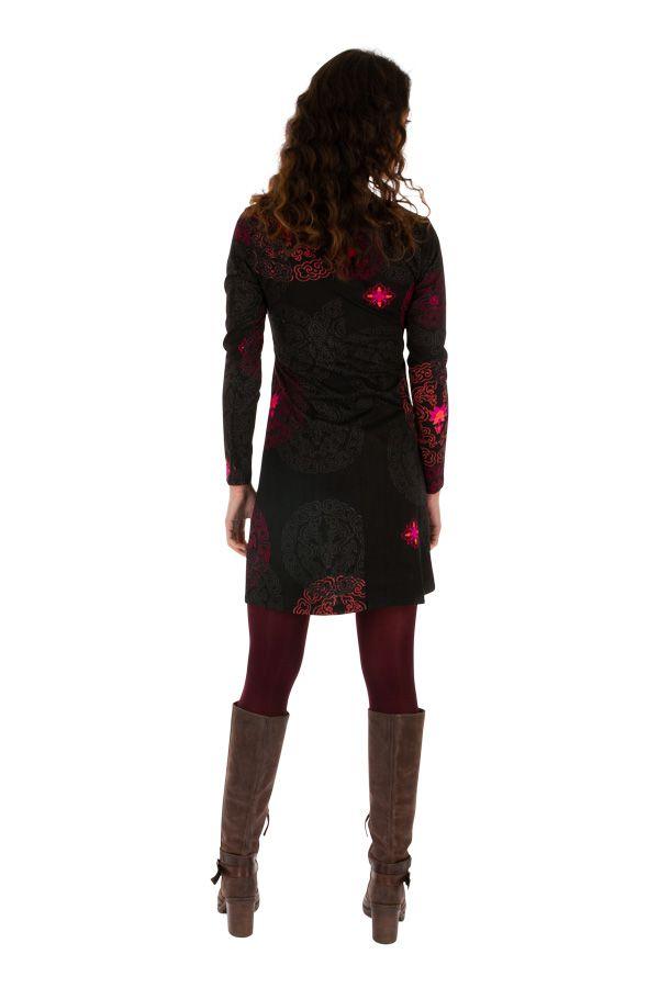 Robe courte d'hiver pour femme élégante et originale Sandra 312636