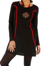 Robe courte d'hiver pour femme originale et stylée Mitzic 312704