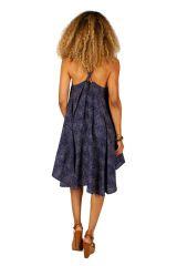 Robe courte de plage à dos nu avec un décolleté Marisa 306329