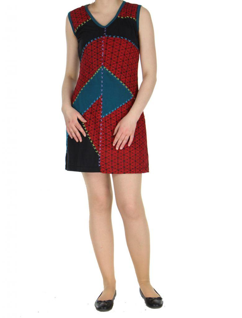 Robe courte du Népal noire Adelma 268421
