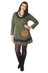 Robe courte en Grande Taille Originale et Ethnique Tessa 286082