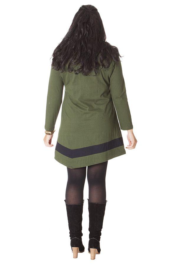 Robe courte en Grande Taille Originale et Ethnique Tessa 286083