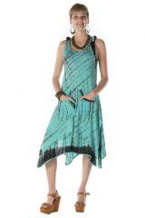 Robe courte été femme originale tie & die Carlita 288154