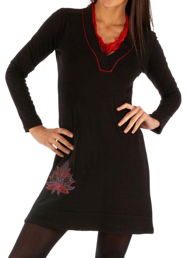 Robe courte ethnique pour femme idéale soirée Mobaye 313892
