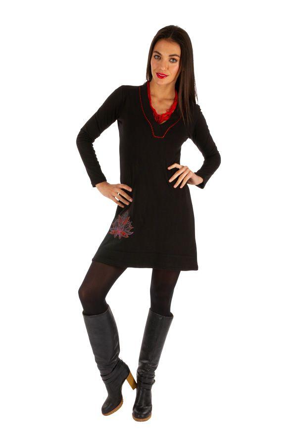 Robe courte ethnique pour femme idéale soirée Mobaye 313893