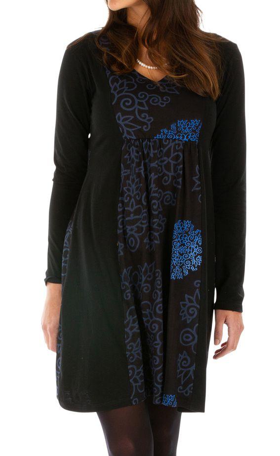 Robe courte femme chic et ethnique idéale soirée Manzini 313236