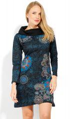 Robe courte femme en coton chic et originale Tunasi 323082