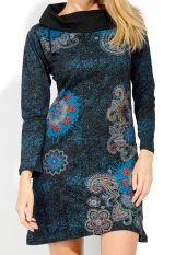 Robe courte femme en coton chic et originale Tunasi 323083