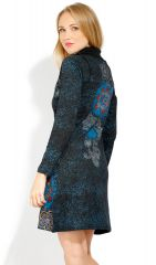 Robe courte femme en coton chic et originale Tunasi 323084