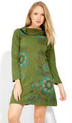 Robe courte femme pas chère pour l'hiver Tunasou 323087