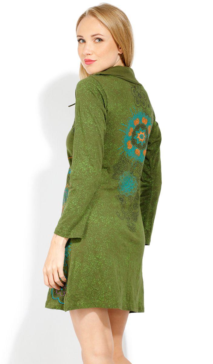 Robe courte femme pas chère pour l'hiver Tunasou 323088
