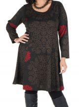 Robe courte femme ronde et imprimés fantaisies ethniques Korry 302222