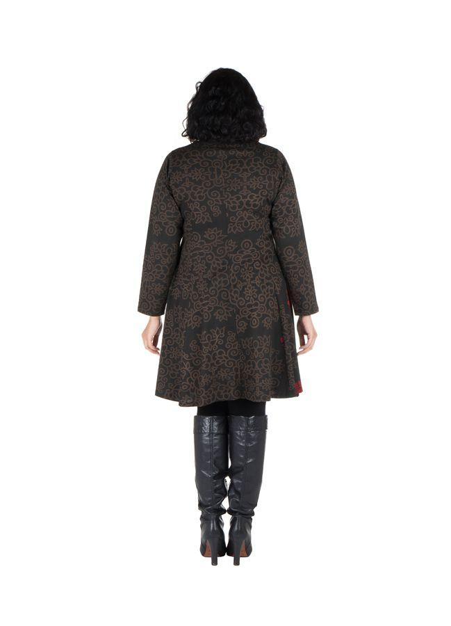 Robe courte femme ronde et imprimés fantaisies ethniques Korry 302225