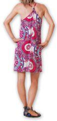 Robe courte fluide d'été Ethnique et Imprimée Teresa Rose 277178