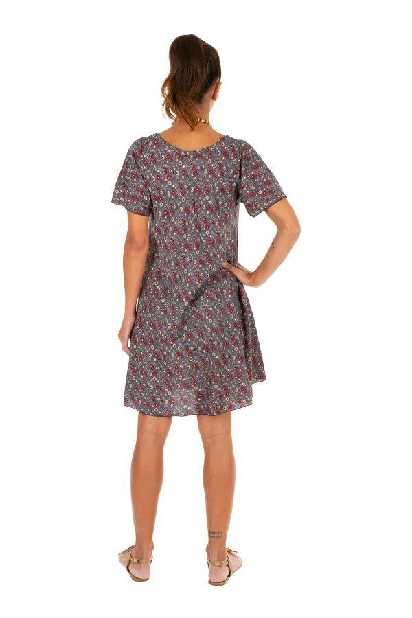 Robe courte fluide pour un look ethnique-bohème Soria