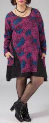 Robe courte grande taille Ethnique et Originale Hania Rose 274777