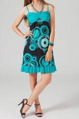 Robe courte imprimée Faola 318690
