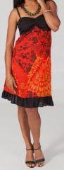 Robe courte imprimée Kalia