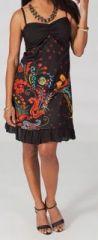 Robe courte imprimée Louvy