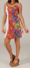 Robe courte Originale et Colorée pour l'été Funchal 280358