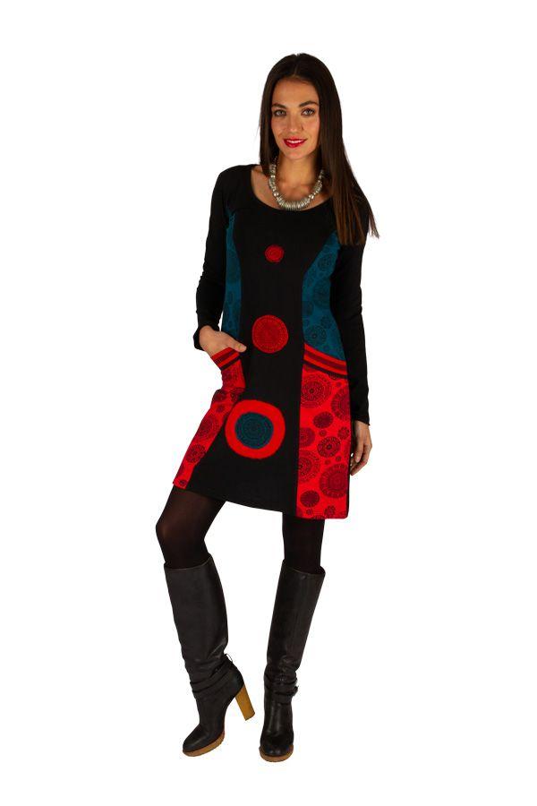 Robe courte originale et ethnique parfaite pour soirée Ondo 313432
