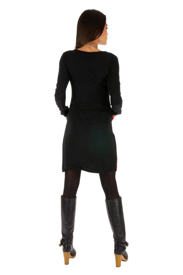 Robe courte originale et ethnique parfaite pour soirée Ondo 313433