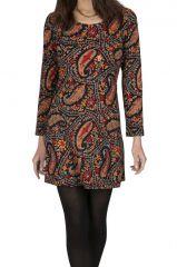 Robe courte originale pour femme avec imprimé Krystie