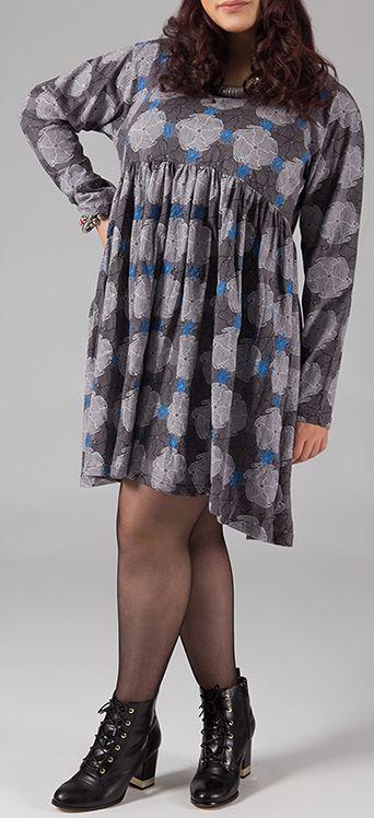 Robe courte originale pour femme pulpeuse et ronde Emilie 274499