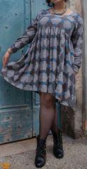 Robe courte originale pour femme pulpeuse et ronde Emilie 274501