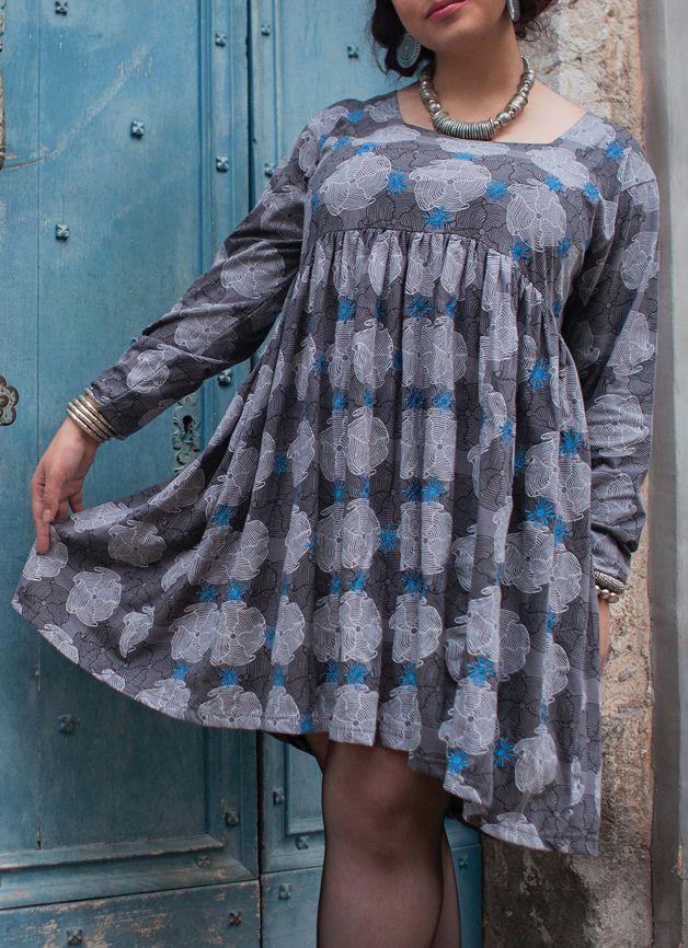 Robe courte originale pour femme pulpeuse et ronde Emilie