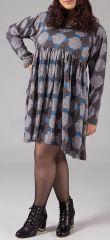 Robe courte originale pour femme pulpeuse et ronde Emilie 315576