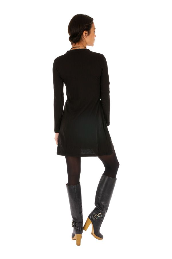 Robe courte pour femme à tendance ethnique et chic Bazmini 313921