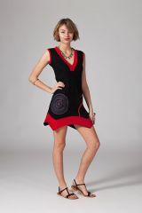 Robe courte pour femme asymétrique et originale Bowgli 315226