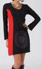 Robe courte pour femme bohème idéale pour l'hiver Kashka 315027
