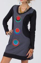 Robe courte pour femme originale et colorée Zalanpa 315031
