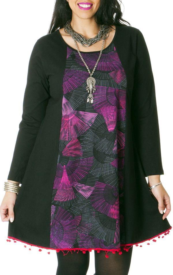 Robe courte pour femme pulpeuse Originale et Fantaisie Impala 286794