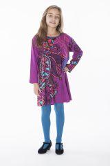 Robe courte pour fille Originale et Colorée Brenda Rose 286447