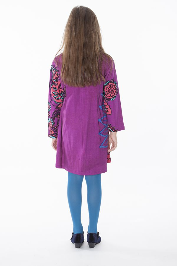 Robe courte pour fille Originale et Colorée Brenda Rose 286448