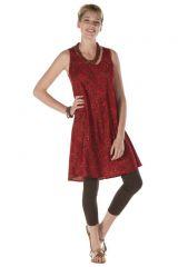 Robe courte rougoyante style indien Felicity 288187